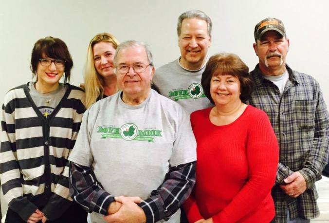 Donald made his 186th lifetime donation on March 3rd at the VFW Post 4239 blood drive in Sidney. He was joined by his son Tim Fisher (his 177th lifetime donation), Tim's wife Billie (her 120th), and son Dwayne Fisher (his 52nd). His granddaughter Mandy Morgan (Tim's daughter) made her 3rd donation and his 17-year-old great granddaughter Kasie Haas (Mandy's daughter) made her very first donation.