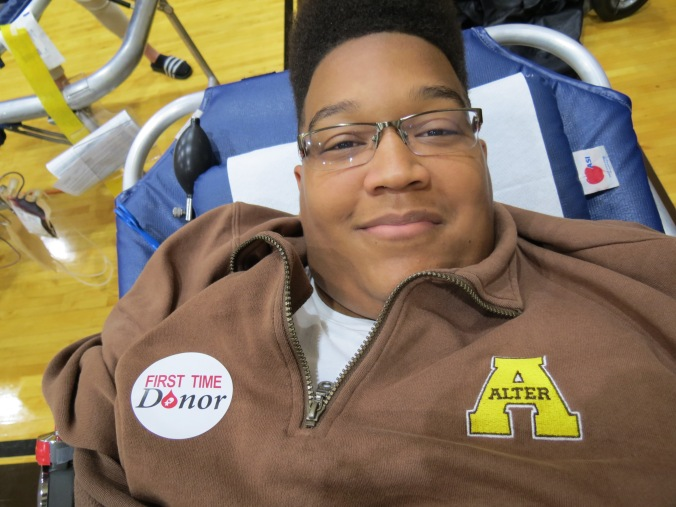 Aaron Neely - First Donation
