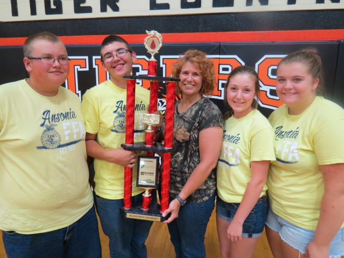 Ansonia FFA wins Grudge Match
