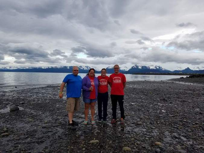 Alaska Trip for David Stammen family