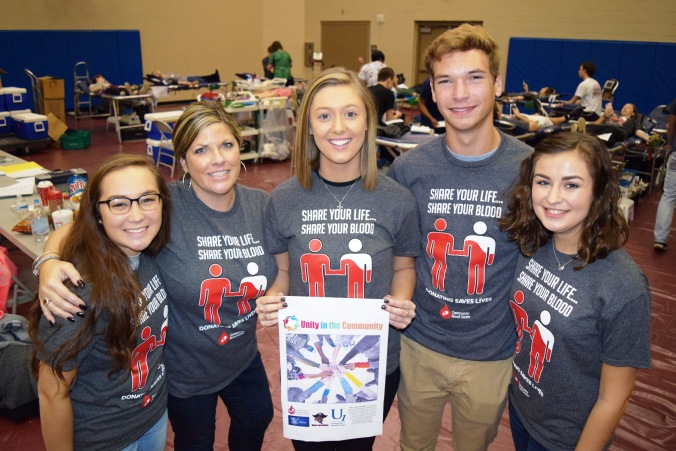 unity-blood-drive-volunteers