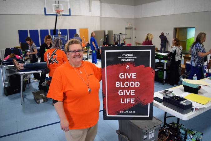 Mindy Jones - Vincent Jones Memorial Blood Drive
