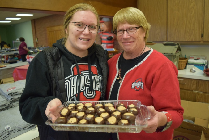OSU Alumni Kirsten Harmon, Cathy Baker