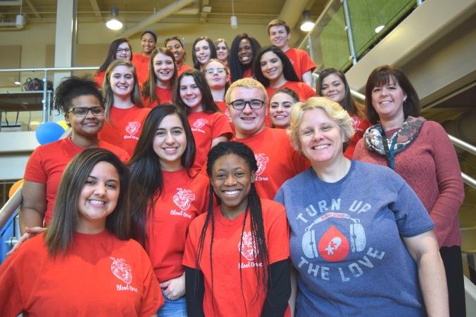 Bioscience Blood Drive team