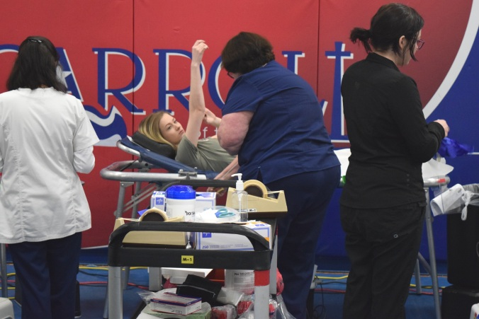Carroll High blood drive