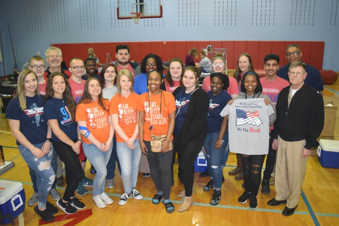 Belmont High Volunteers