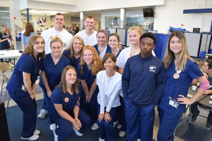 Allied Health volunteers