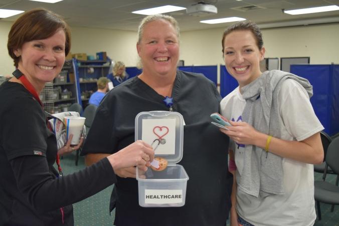 Wilson Health Heather Kean, Elaine Shuga, Kendra Frazier