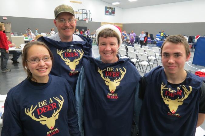 Holdheide family Emily, Dave, Sharon, Alan